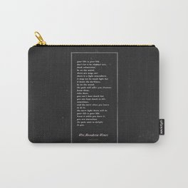 The Laughing Heart II Carry-All Pouch