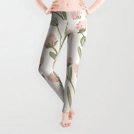 Rose Garden Pattern Leggings