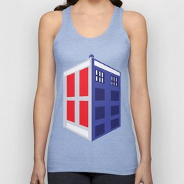 Time Travel Unisex Tank Top