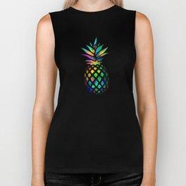 Iridescent pineapples Biker Tank