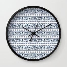 The lace pattern. Wall Clock