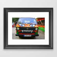 Nice Ride Framed Art Print