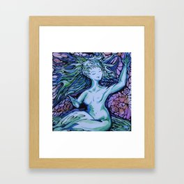 Evening Muse Framed Art Print