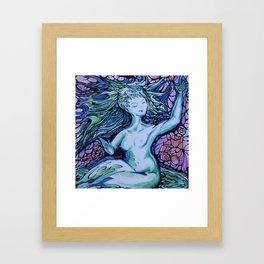 Evening Muse Framed Art Print