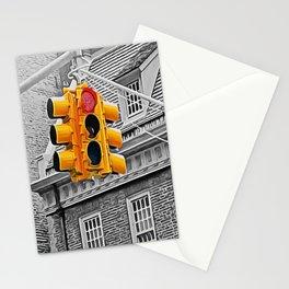 traffic light Stationery Cards