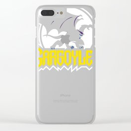 Gargoyles Clear iPhone Case