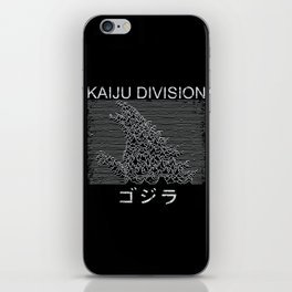 Kaiju Division iPhone Skin