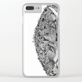 Planet Jakarta Clear iPhone Case