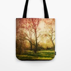 The trees whispered to me Tote Bag