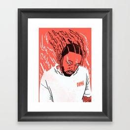 Kendrick Lamar - Damn. Framed Art Print