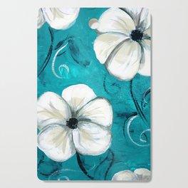 Flowers in Oil Cutting Board