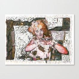 Barfday! Canvas Print