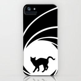 Bond, Kitty Bond iPhone Case