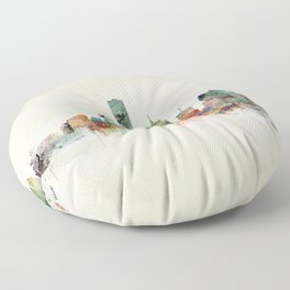 milwaukee wisconsin  Floor Pillow
