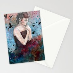 Forgotten painting, watercolor Stationery Cards