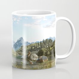 Mermaid lake Coffee Mug
