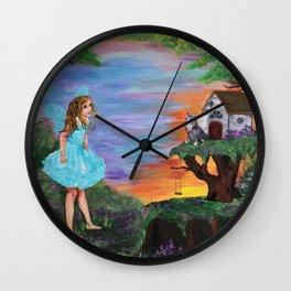 Fairy Play Wall Clock