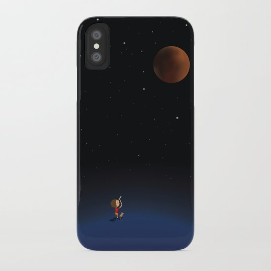 The Red Moon iPhone Case