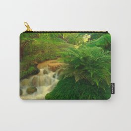 Stream in the forest Carry-All Pouch