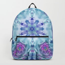 Royal Blue and Purple Mandala Backpack