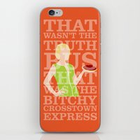 pushing daisies iPhone & iPod Skins featuring Pushing Daisies - Olive by MacGuffin Designs