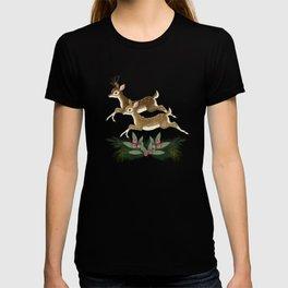 winter deer // repeat pattern T-shirt