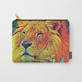 AnimalColor_Lion_005_by_JAMColors Carry-All Pouch