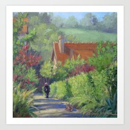 Gentle Soul — French Landscape Art Print