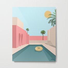 Pastel Summer Metal Print