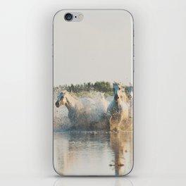 runaway horses ... iPhone Skin