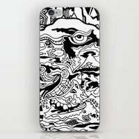 saxophone iPhone & iPod Skins featuring Saxophone Dreams by Jay Baldridge