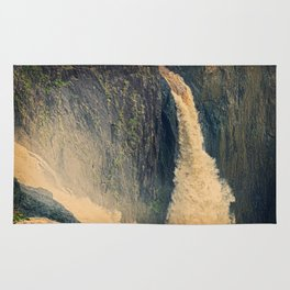 Barron Falls in retro style Rug
