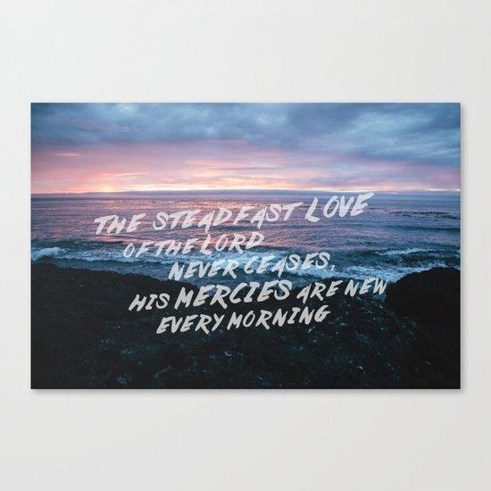 Mercies Canvas Print