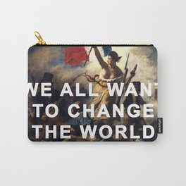 Liberty Leading the Revolution Carry-All Pouch