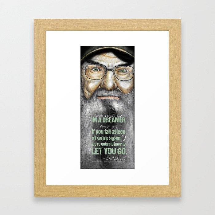 Si Robertson Framed Art Print