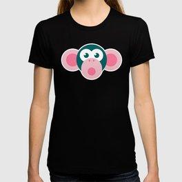 """Oops!"" Stylized Monkey - Zoo series T-shirt"