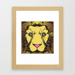 jungle king Framed Art Print