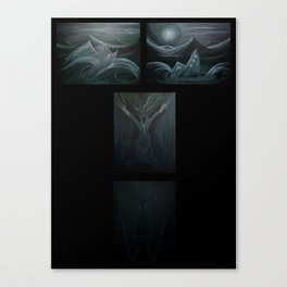 Death and Water Canvas Print