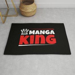 Manga Anime I King Queen Princess Family Gift Rug