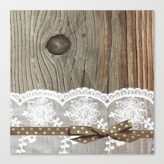 FRENCH LACE Canvas Print