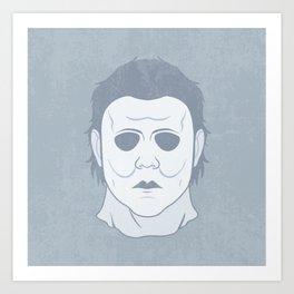 Myers Mask Art Print