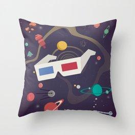 Cosmico 3 Throw Pillow