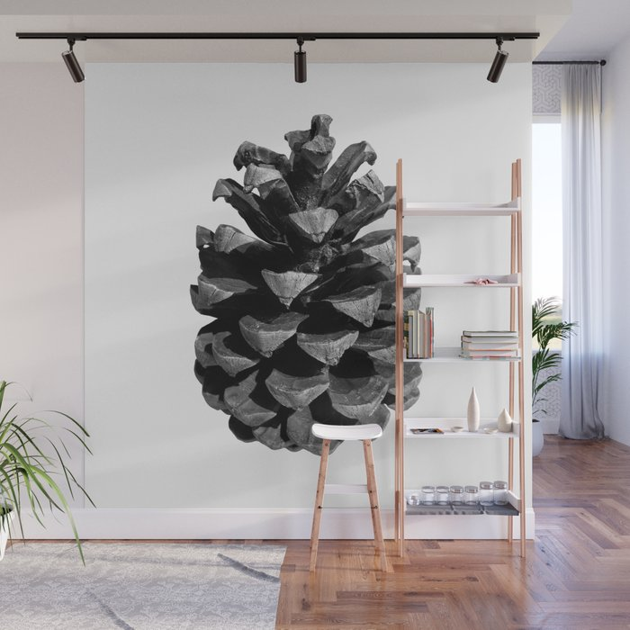 Pinecone Wall Mural