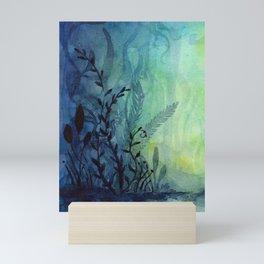 Underwater Ocean Foliage Mini Art Print