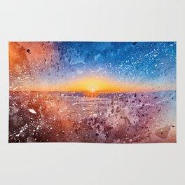Acrylic San Francisco Sunrise Rug