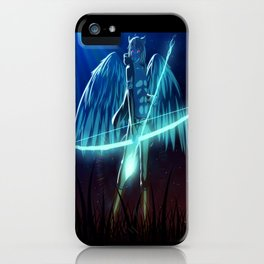 Luc Ready for Battle iPhone Case