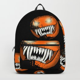 Scary Halloween Pumpkin Backpack