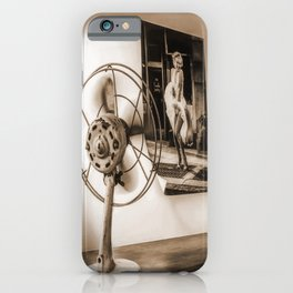 The Marilyn's poster and the fan iPhone Case