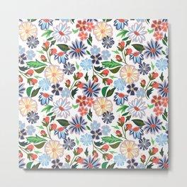 Springtime Floral Metal Print