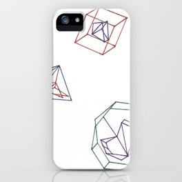 The symmetry of rationality iPhone Case
